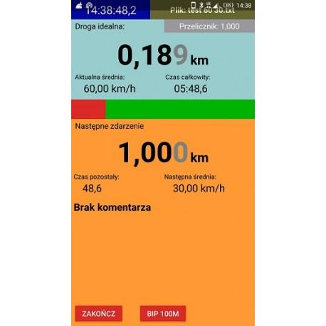 Aplikacja Inteligentna tabela prędkości.
